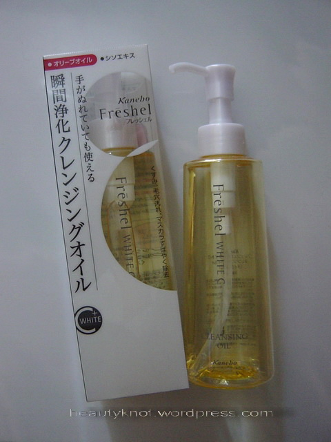 kanebo-freshel-c-cleansing-oil