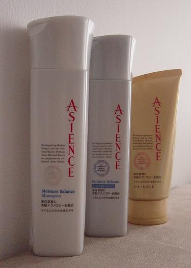 Asience hair care