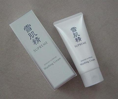 Kose Sekkisei Supreme washing cream