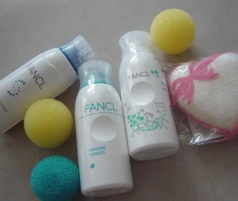 FANCL washing powders