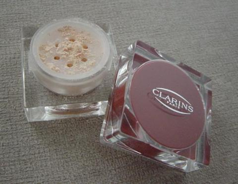 Clarins loose powder2