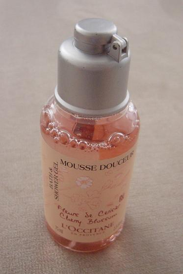 L'Occitane cherry blossom shower gel