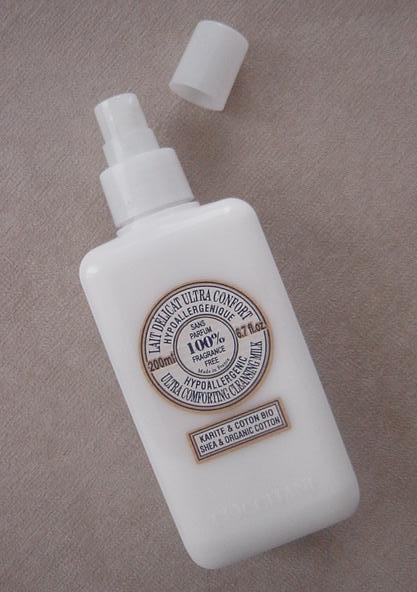 L'occitane SheaCotton UC cleansing milk.JPG