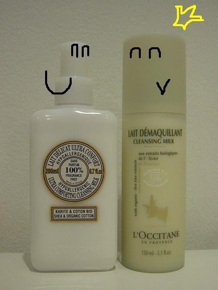 L'Occitane cleansing milks compare6