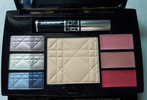 preview  dior travel studio makeup palette collection
